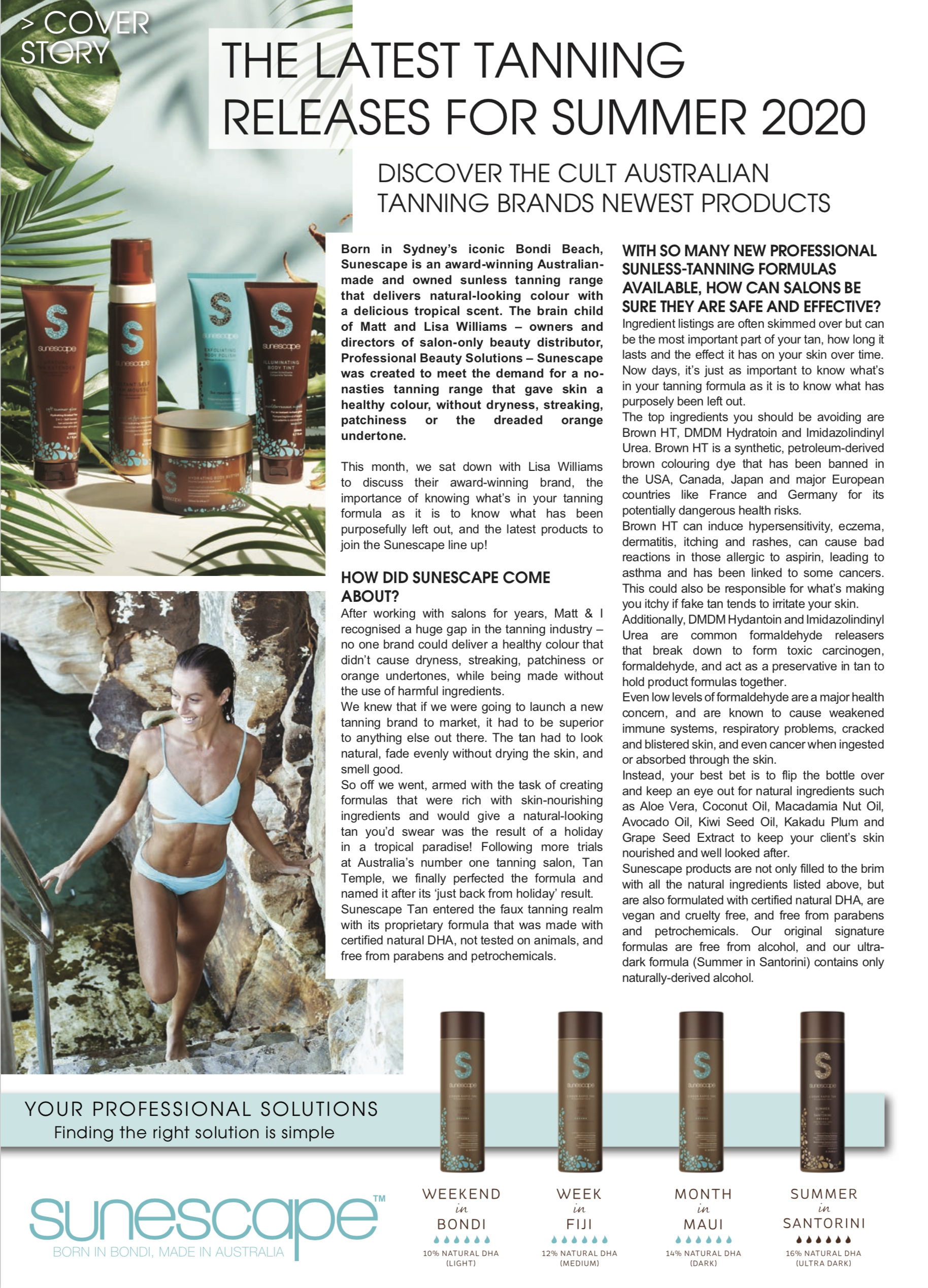 sunescape article in mag